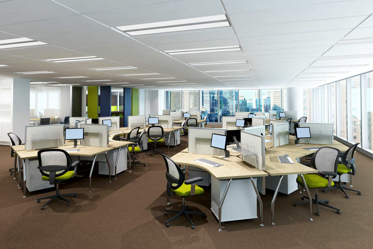 Office cleaning and commercial contract cleaning for Office design help